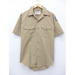 Old clothes short sleeves military shirt navy NAVY bird beige khaki large size used men tops Spring clothes summer clothing summer clothes casual shirt men fashion short sleeves shirt fashion for spring is casual in the spring and summer
