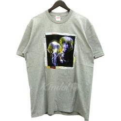 "SUPREME 18SS ""Jellyfish Tee"" jellyfish T-shirt gray size: M (シュプリーム)"