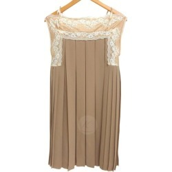 Theatre Products pleats dress beige size: FREE (theater products)