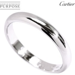 Cartier Cartier classical music #59 ring 3.5mm in width PT950 platinum ring