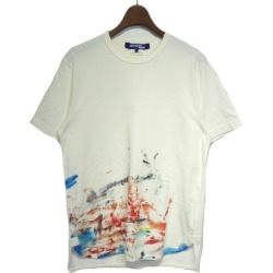 JUNYA WATANABE COMME des GARCONS MAN 2018SS art graphic print T-shirt white size: S (ジュンヤワタナベコムデギャルソンマン)