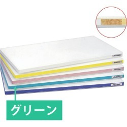 Cutting board cutting board plastic for polyethylene SD500 *300*20 Green duties feeling light