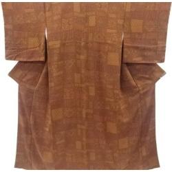 Crepe place sinter crest printed cotton design fine pattern kimono sect sou