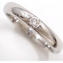 セントピュール PT1000 ring 7 diamond sapphire used jewelry ★★ giftwrapping for free