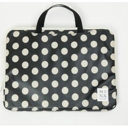 PC case PC case PC bag document case vinyl coating fashion cute cute Apple Macbook 12 13.3 inches, Surface 12.3 13.5 inches correspondence black kina Rico in dot