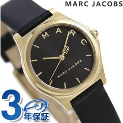 Mark Jacobs clock Lady's watch Henry 20mm MJ1644 MARC JACOBS black leather belt