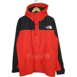 THE NORTH FACE Moutain Light Jacket mountain parka red X black size: L (the North Face)