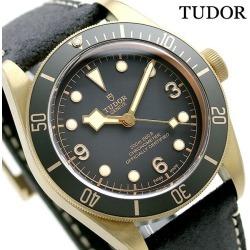 Tudor TUDOR Zhu dollar heritage black bay bronze self-winding watch men watch 79250BA gray X black
