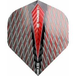 TARGET (target) VISION ULTRA QUARTZ flight (vision ultra quartz flight) standard red (dart flight dart feather)