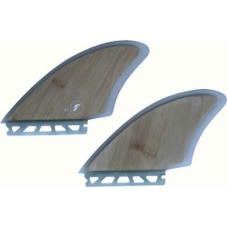 Short board use for the FUTURES FINS RTM HEX TWIN KEEL FK2 BAMBOO 2 fin twin room fin nostalgic board