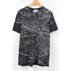 Men L /wbc4479 made in MODERN AMSTERDAM whole pattern print T-shirt USA