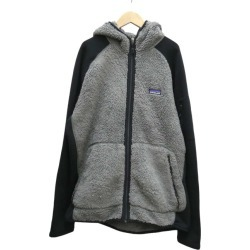 patagonia fleece jacket gray X black size: L (Patagonia)