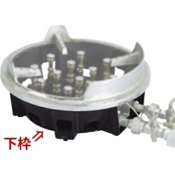 Only as for super burner TG-12T lower frame to gas burner gas ring outdoors cooking use!