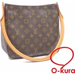 Louis Vuitton shoulder bag monogram looping MM Lady's M51146 deep-discount exemption from taxation Louis Vuitton leather shawl LOUIS VUITTON A6024427