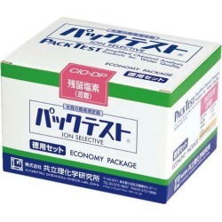 Kyoritsu Institute of Physical and Chemical Research pack test economical set iron (low concentration) KR-Fe (D)