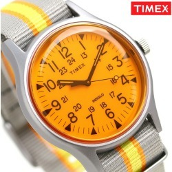 Timex watch MK1 California men gap Dis TW2T25500 TIMEX clock orange X gray