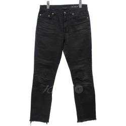 The skinny pants black size that SAINT LAURENT PARIS D01 M/SK-MW keeps on cutting it: 27 (Saint-Laurent Paris)