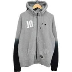 NIKE NIKE F. Japan size C cup AW77 FZ フーディージップアップパーカーグレー X black size: L (Nike)