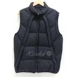 UNDER COVER down vest HUMAN CONTROL SYSTEM 2017AW black size: 2 (under cover)