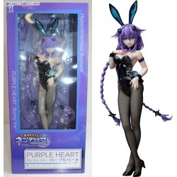 [uncivilized seal] [FIG] purple heart bunny Ver. Super dimension ゲイムネプテューヌ 1/4 finished product figure skating FREEing (free-lance Inge) (20190131)