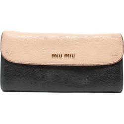 It is ミュウミュウマドラスビコローレ long wallet MiuMiu Lady's until - 9/11 1:59 at 9/9 18:00