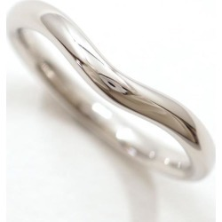 ティファニーカーブドバンド PT950 ring 8 metal used jewelry ★★ giftwrapping for free