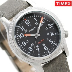 Timex watch Allied Corp. LT men TW2T33200 TIMEX clock black X gray