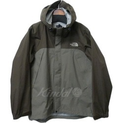 "THE NORTH FACE ""NP10800"" dot shot jacket by color mountain parka gray X brown size: S"