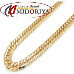 Kihei necklace K18YG eight triple 20.2 grams 40cm 18-karat gold yellow gold Kihei chain necklace /72444