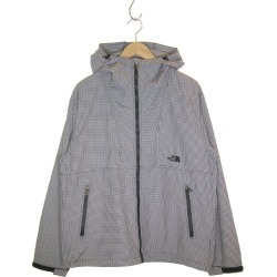 THE NORTH FACE Novelty Compact Jacket nylon jacket black X white size: L (the North Face)