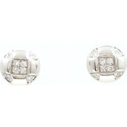 K9WG pierced earrings diamond 0.05*2 used jewelry ★★ giftwrapping for free