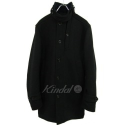 G-STAR RAW stand collar wool coat navy size: S (G star low)