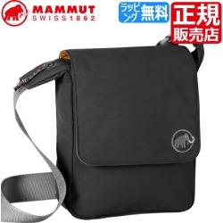 Take the men's lady's bag slant that マムートショルダーバッグ [regular store] MAMMUT Shoulder Bag Square 4L 2520-00560-0001-140 bag fashion shows cute; a bag traveling bag porch