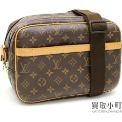 Louis Vuitton M45254 reporter PM monogram shoulder bag messenger bag camera bag classical music icon men gap Dis combined use LV REPORTER PM MONOGRAM SHOULDERBAG