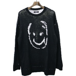 UNDER COVER under cover 19SS SMILE BIG knit black 2 men found on Bargain Bro India from Rakuten Global for $167.00