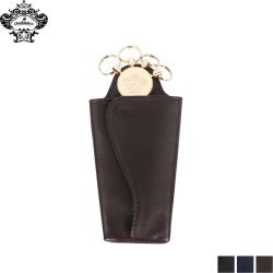 Orobianco オロビアンコキーケースキーホルダーメンズ four genuine leather men KEY CASE black navy dark brown black ORS-041208 [9/25 Shinnyu load]