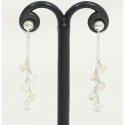 Pierced earrings diamond 0.50ct *2 platinum (Pt900) jewelry netshop in total