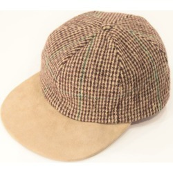 Harris Tweed Harris Tweed 6 panel cap /wba1609