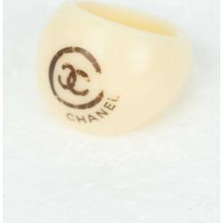 CHANEL plastic ring