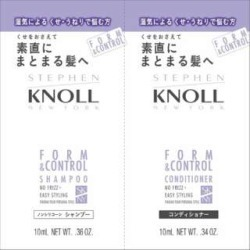 KOSE Steven norform control shampoo & conditioner trial (10mL *1 10mL *1)