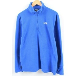 The North Face THE NORTH FACE half zip fleece pullover men L /wbi1828 made in 15 years