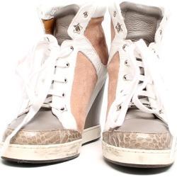 It is ジミーチュウ SIZE 36 (M) in heel sneakers JIMMY CHOO Lady's until - 9/3 23:59 at 9/2 18:00
