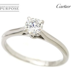 Cartier Cartier sled tail diamond 0.38ct G/VVS-2/3EX #49 ring Pt950 platinum diagram ring