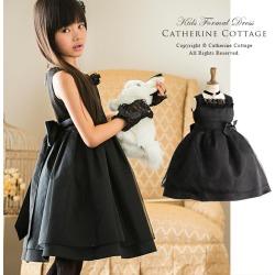 Girl Dress Up Presentation Of Black Frilly Black Dress Children Dress Kids
