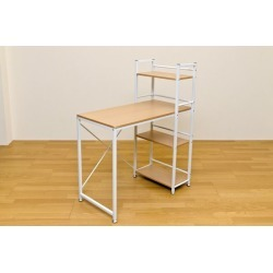 It includes the natural postage with the PC desk (PC desk / desk) 90cm in width adjuster with the open rack!