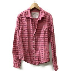 And Irene SIZE XS (less than XS) long sleeves shirt Frank & Eileen Lady's frank at 9/9 18:00 until - 9/11 1:59