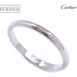 Cartier Cartier classical music #52 ring Pt950 2mm in width platinum ring