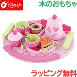 Toy of the classic world playing house classical music world classic world afternoon tea set playing house food dish tree