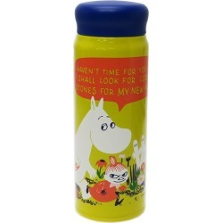 To 480 ml of field of flowers Mumin thermal insulation cold storage water bottle North Europe Small planets portable thermos teens miscellaneous goods mail order marshmallow pop 10/29