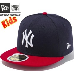 New Era 5950 Kids Cap Touton Body Mlb New York Yankees Navy Scarlet New Era